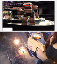 Portable AR Gun Augmented Reality Gaming Gun Smartphone Shooting Games DIY Toy Gun for Android iOS Phones