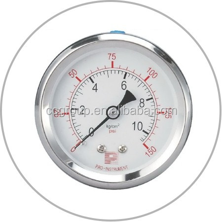 50mm PRESSURE GAUGE FOR RO REVERSE OSMOSIS SYSTEM