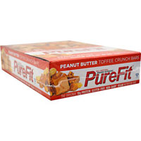 PUREFIT BAR, Peanut Butter Toffee Crunch 15 / 2oz by PureFit