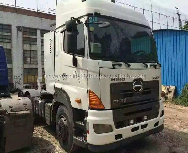 Good Condition Used Hino Trailer Head Truck