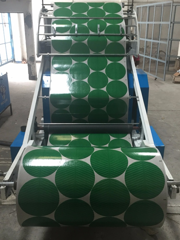 disposable paper plate blank machine