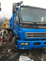 isuzu Road dump truck good quality second-hand dump truck