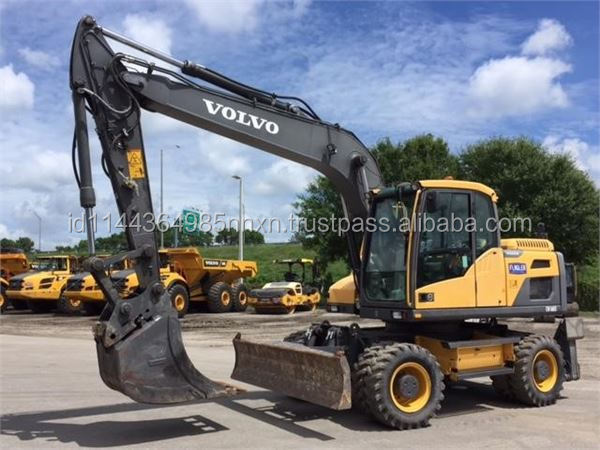 WHEEL VOLVO CW160D earth moving machine construction machinery wheeled excavator origin for sale in shanghai china