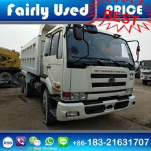 Second Hand Used Nissan UD Diesel Dump Tipper Truck for sale