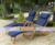 Teak garden furniture - Steamer Chair - Wooden Teak Chaises Lounges