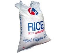 Flat surface heat cut top milky white pp woven bag 50 kgs 40 kgs for fertilizer grain...