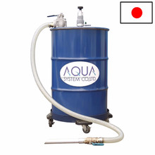 Cleaning cutting oil coolant by filtration cleaner APDQO-F with multiple functions made in Japan