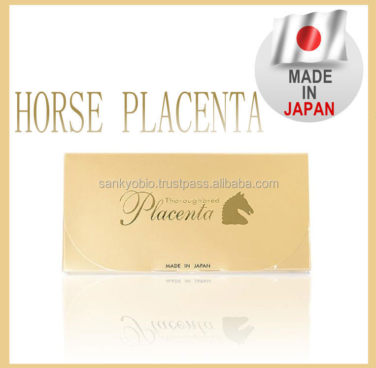 Reliable Horse Placenta produced by Japan company , OEM available