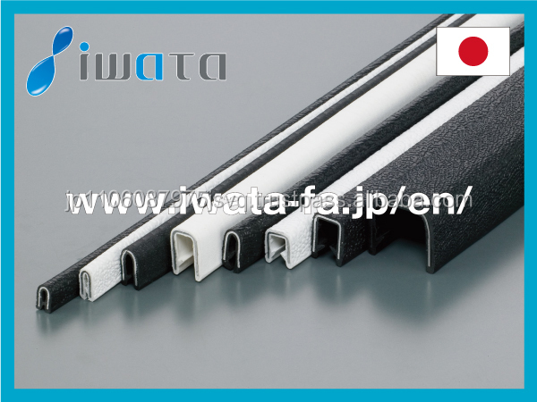 Japanese L shape trim with rust-resistant aluminum metal core