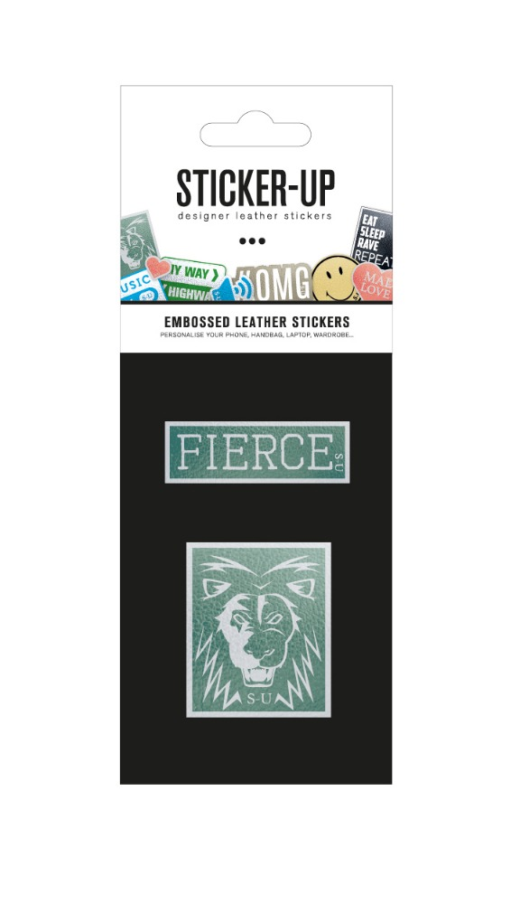 Sticker up - Fierce + Lion