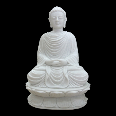 White Marble Large Stone Buddha Statues For Sale