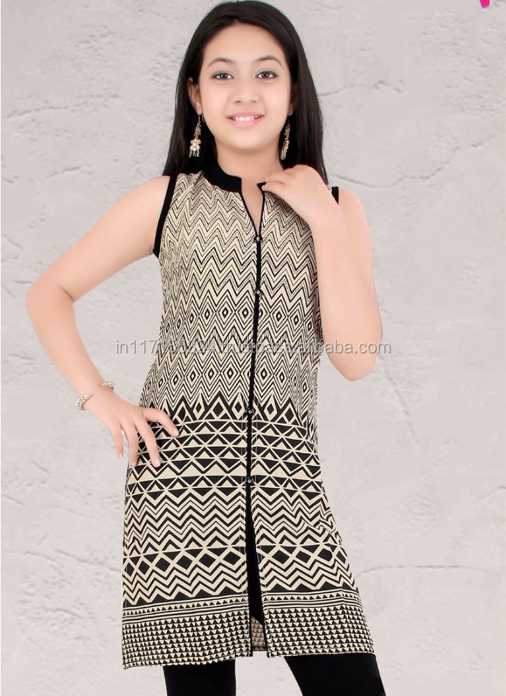 New product hot selling clothing fashion set kids wear - Wholesale kids wear brands - Kesari Exports brands kids wear kurti