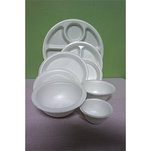 Polystyrene Foam (PS) Plate or bowl