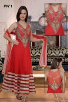 Party wear stone suits for ladies