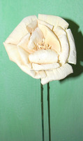 Rose Corn Leaf Hand made Flower