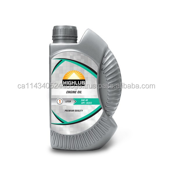 Hot Selling Four Stroke Motorcycle Engine Oil SAE 40 API: SC/CC