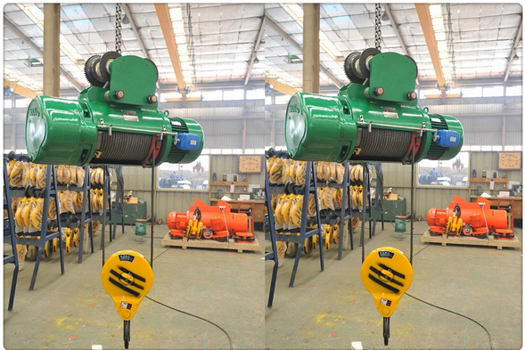 Kuangyuan hoisting machine electirc wire rope hoist