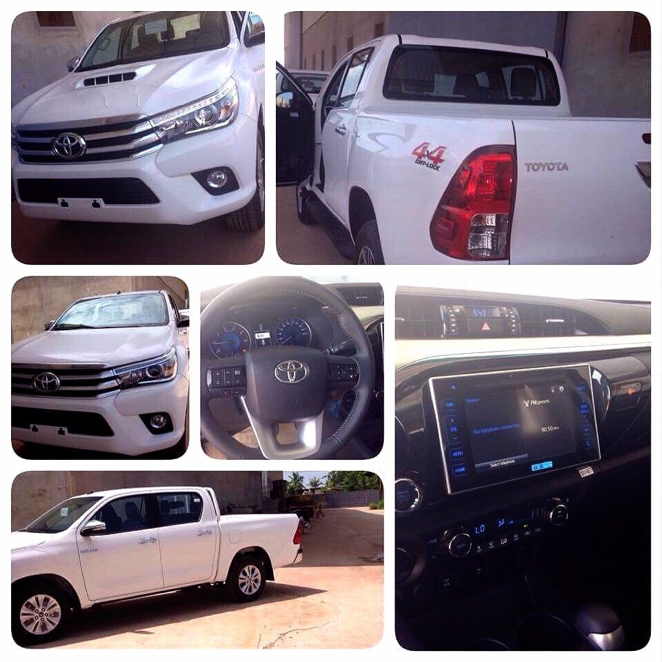 2016 LHD Brand new Toyota Hilux Revo ready for export