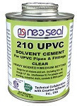 210 PVC/UPVC Heavy Bodied Solvent Cement