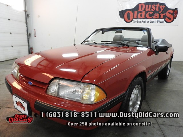 1988 Ford Mustang LX Runs Drives Body Interior Excel Season Ready - See more at: www.dustyoldcars.com