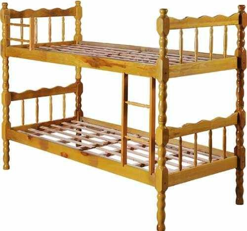 High Quality Pine Wood Bunk - Traditional Design - Only US$40,00