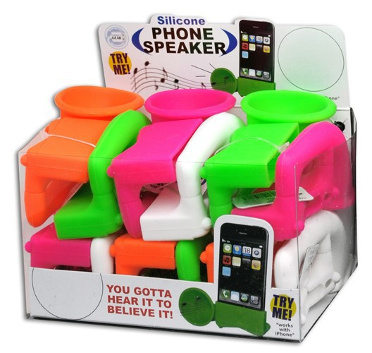 NEON CELL PHONE SPEAKERS #028588C