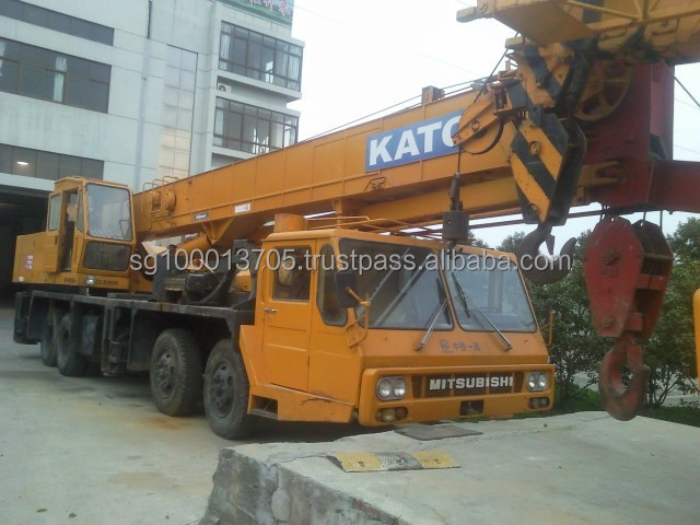 used cranes used kato 40T cranes used japan kato 40T crane in china for sale