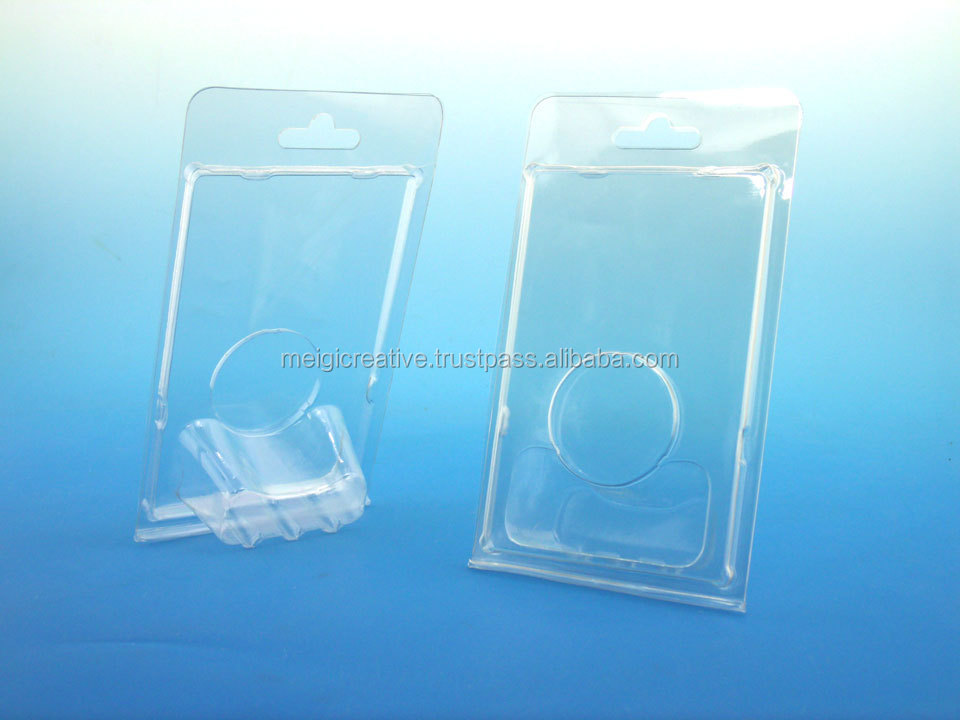 Clear Custom PET Plastic Clamshell, Thermoformed clamshell
