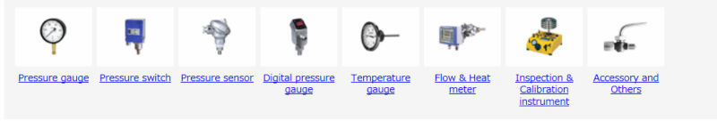 Reliable and Easy to use Bourdon tube type pressure gauge with multiple functions made in Japan