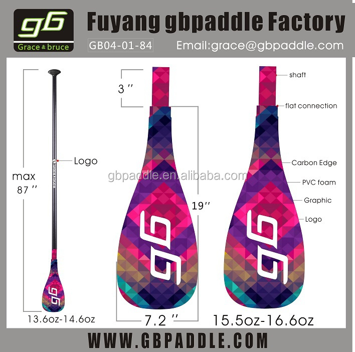 Light Weight Carbon Adjustable Surf Paddle