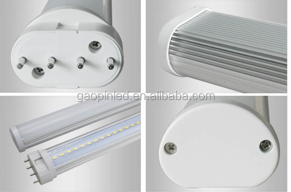Hot 4 pins 2g11 LED Tube 8W 12W 15W 18W 22w 26W led 2g11 PL lamp