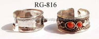 Buy online Wholesales Silver plated Brass Rings jewelry RG-816