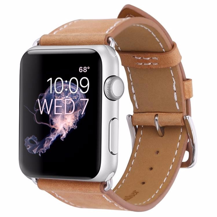 For apple watch band, genuine leather strap for apple watch 3 band 38mm