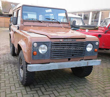 USED CARS - LAND ROVER DEFENDER 90 STATION WAGON (LHD 9052)
