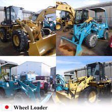 High-performance kawasaki wheel loader in japan , Wheel loaders at reasonable prices , open biding now
