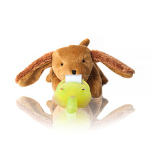 CuddlesMe Pacifier with Detachable Plush DOG