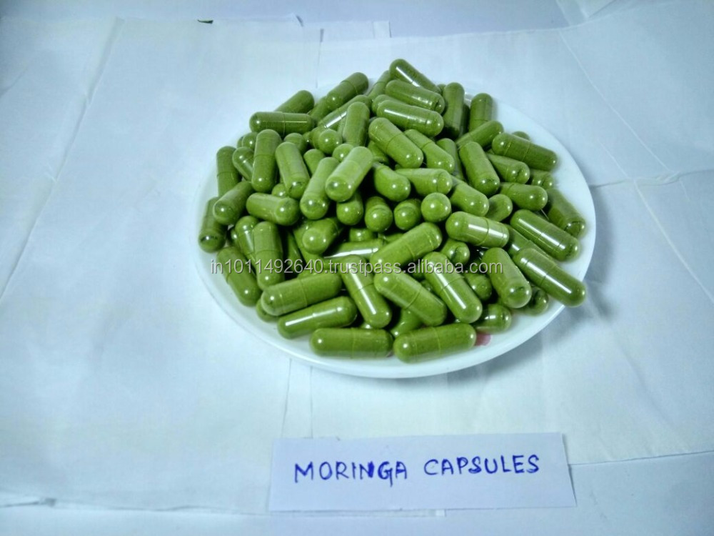 The GMP Certified Moringa Capsules With MultiVitamins
