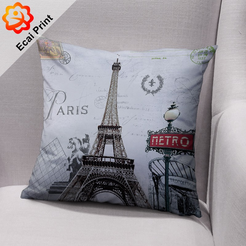 HOT SELL Custom made sublimation digital printed decorative throw pillow case, View pillow cases ...