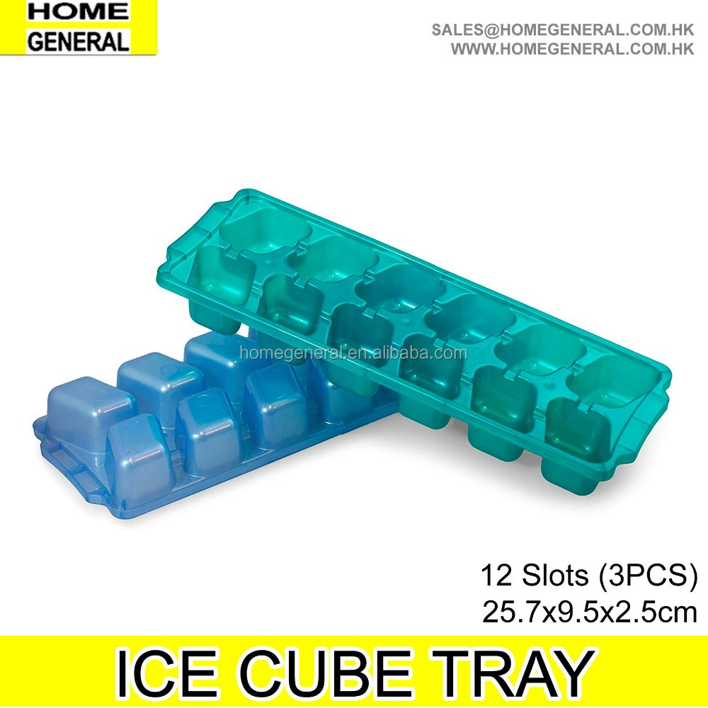 KITCHEN GENERAL, SET OF 3 ICE CUBE TRAY, CHEAP ICE CUBE TRAY SET, ICE CUBE MOLD AND TRAY SET, ICE CUBE MOLD, 12 SLOTS ICE TRAY