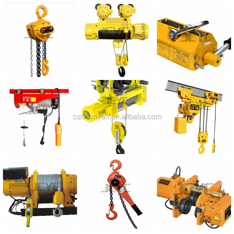 Lifting Tools Mini Electric Hoist With Trolley