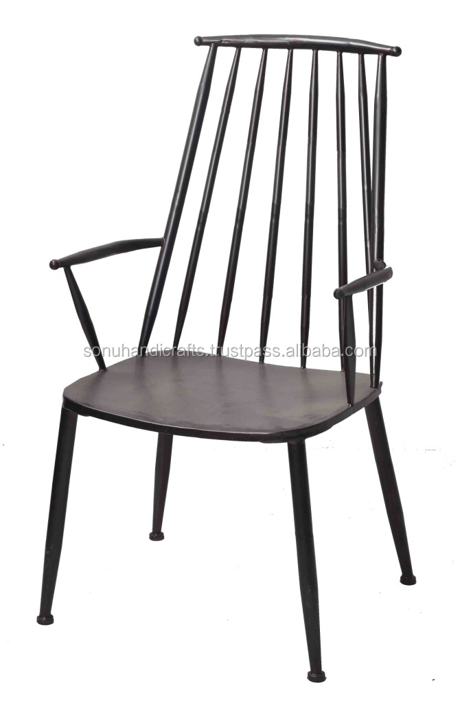 INDUSTRIAL IRON CHAIR