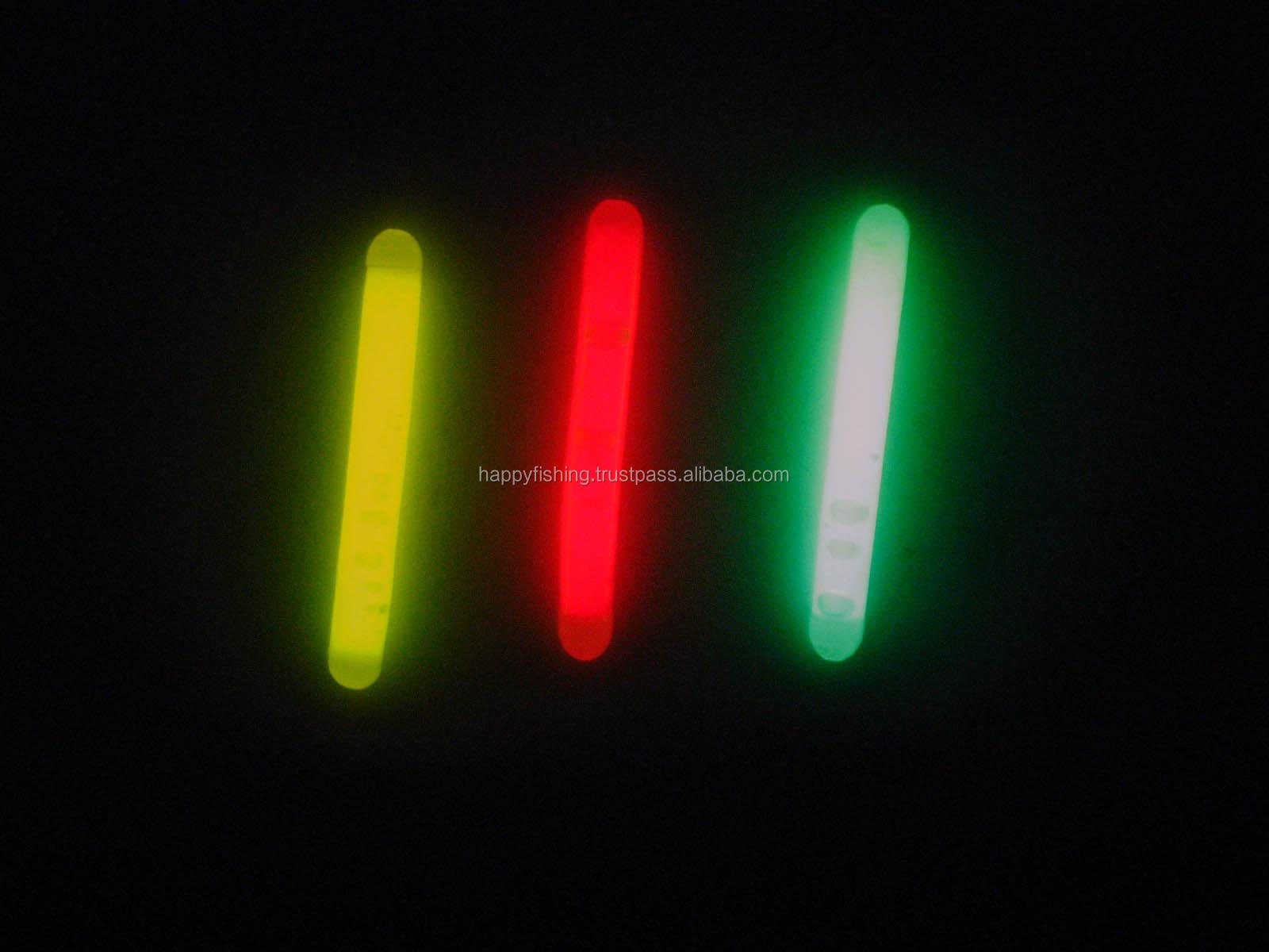 Fishing glow light sticks chemical lights buy glow stick for Fishing glow sticks