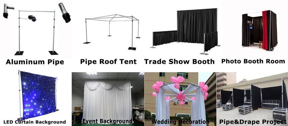 Basic Pipe And Drape Setup/ Pipe and drape kit/ Pipe kits