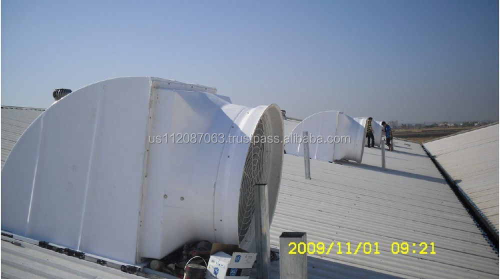 Air Flow 45000m3 H Roof Top Ventilation Roof Exhaust Fan