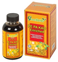 GreenHerbs Pe Pa Kao Enriched 300ml,Halal product