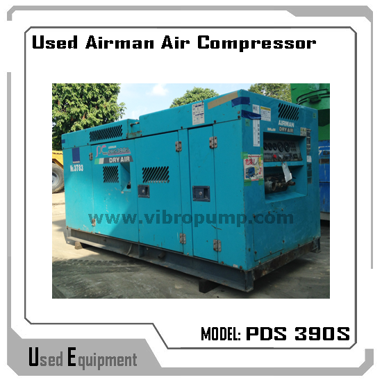 Used Airman PDS 390S Air Compressor