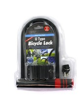 U-type bicycle lock