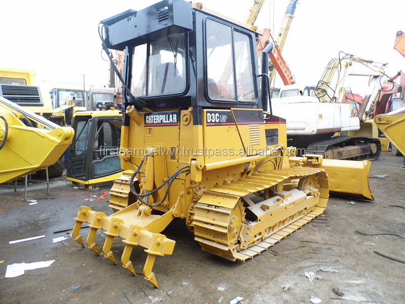 2002 Used CAT D3C Bulldozer,CAT D3C Small Bulldozer with ripper
