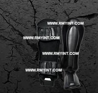 pakistani RMY 001 best quality shin guards/shin & arm guards/soft shin guards/football shin guards/football head guards