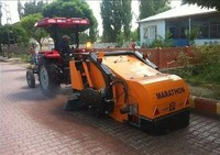 TRACTOR TOWED ROAD SWEEPER MACHINE